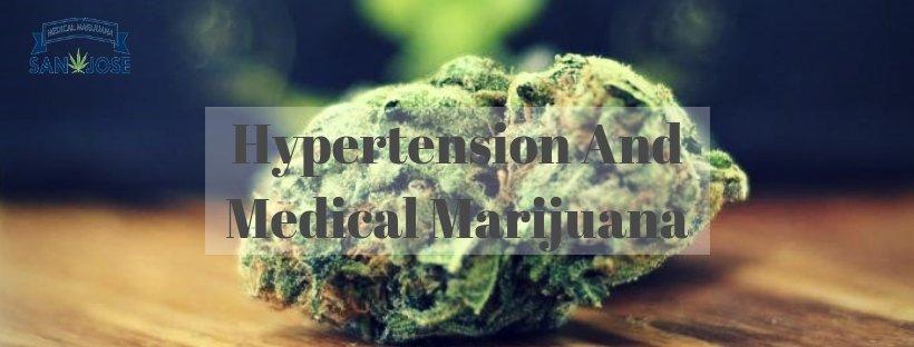 Hypertension and medical marijuana