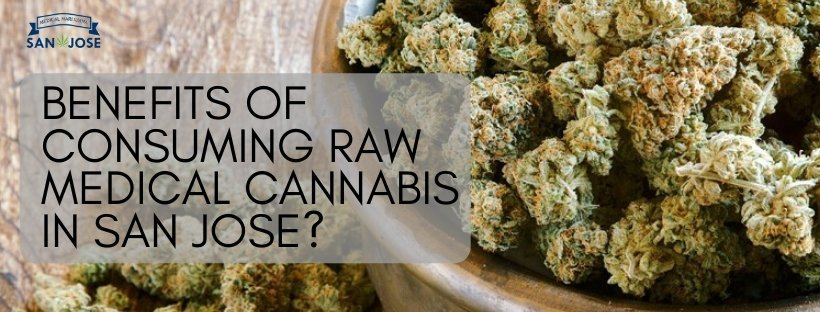 Are There Any Benefits of Consuming Raw Medical Cannabis in San Jose?