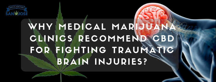 Medical Marijuana Clinics Recommend CBD for fighting traumatic brain injuries