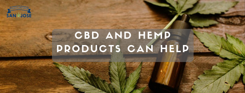 CBD and hemp products can help