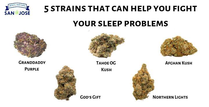 marijuana strain help in sleeping
